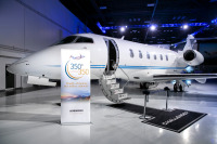 ニュース画像:ボンバルディア、350機目のチャレンジャー350を納入 6年で達成