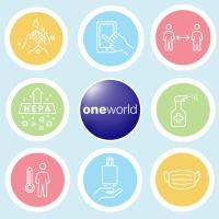 ニュース画像:ワンワールド、加盟航空会社らコロナ対策をまとめた情報ページを開設