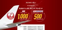 ニュース画像:JAL、国内線搭乗で片道最大1,000e JALポイントプレゼント