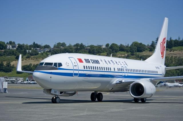 ニュース画像 1枚目:中国国際航空 737-800 「B-5518」