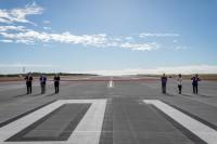 ニュース画像:ブリスベン空港、新滑走路を供用開始 記念にビンテージ機がエアショー