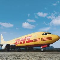 ニュース画像:メサ・エア・グループ、DHLエクスプレスと貨物輸送契約