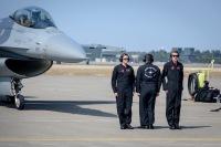 35FWのF-16、7月15日に三沢基地で2回デモ訓練の画像