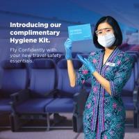 マレーシア航空、全搭乗者に無料の衛生キット配布の画像