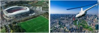 AirX、鹿島アントラーズ「ヘリコプター観戦プラン」を販売の画像