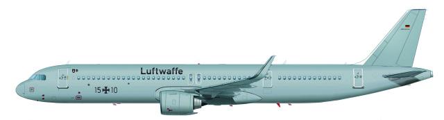 ニュース画像 1枚目:ドイツ空軍 A321neoLR
