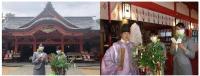 ニュース画像:ソラシドエア、七夕まつりで集まった短冊を宮崎県の青島神社に奉納