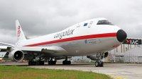 ニュース画像:カーゴルクス、747レトロ塗装登場 最初の機材CL-44に着想