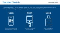 ニュース画像:アメリカン、非接触チェックインやWi-Fiポータルで顧客体験向上へ