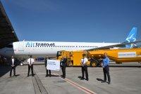 ニュース画像:A321LR、持続可能な燃料でハンブルグから初デリバリー