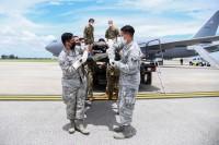 ニュース画像:KC-46、初めての医療輸送ミッション