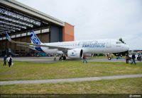 ニュース画像:帝人の炭素繊維、A320neo主翼スポイラー部材に採用