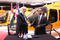 ニュース画像:UAE企業に導入されたベル505、3カ月で1,000飛行時間を記録