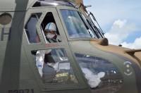 与論島のコロナウイルス患者、陸自や海保が航空機で患者搬送の画像
