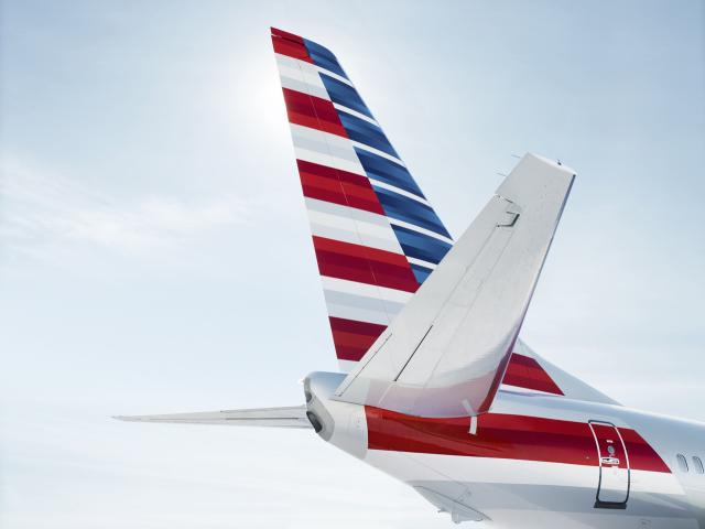 ニュース画像 1枚目:アメリカン航空 ロゴ