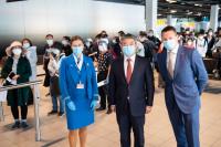 ニュース画像:KLMオランダ航空、アムステルダム/上海線を運航再開 5カ月ぶり