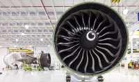 ニュース画像:777に搭載するGE90エンジン、地球と太陽300往復相当を飛行