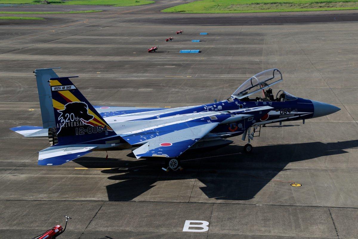 飛行教育航空隊創隊20周年、F-15DJ記念塗装機が登場 | FlyTeam ニュース