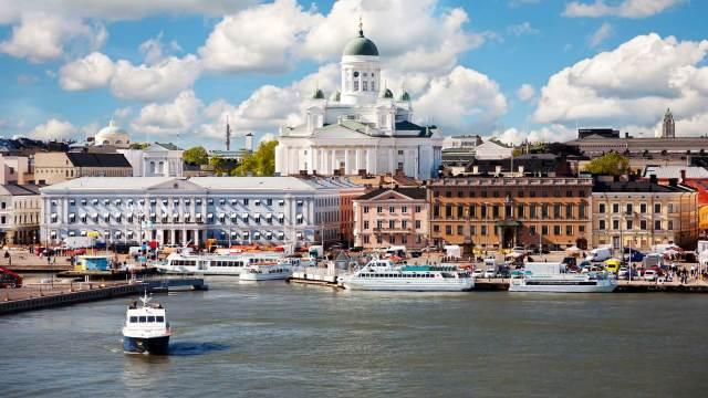 ニュース画像 1枚目:ヘルシンキの街並み