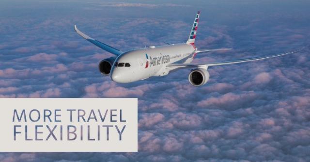 ニュース画像 1枚目:アメリカン航空 予約変更手数料を免除