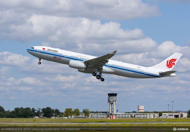 ニュース画像 1枚目:中国国際航空 イメージ