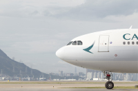 キャセイパシフィック航空、9月も成田/香港線で週3便の画像