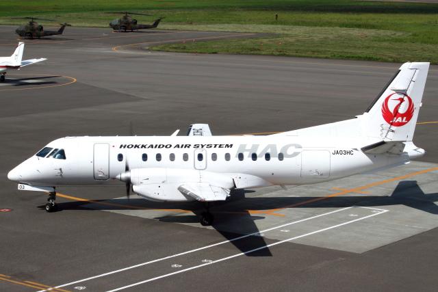 ニュース画像 1枚目:北海道エアシステムのサーブ340B イメージ (セブンさんの航空フォト)