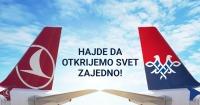 ニュース画像:エア・セルビアとターキッシュ・エアラインズ、コードシェアを開始