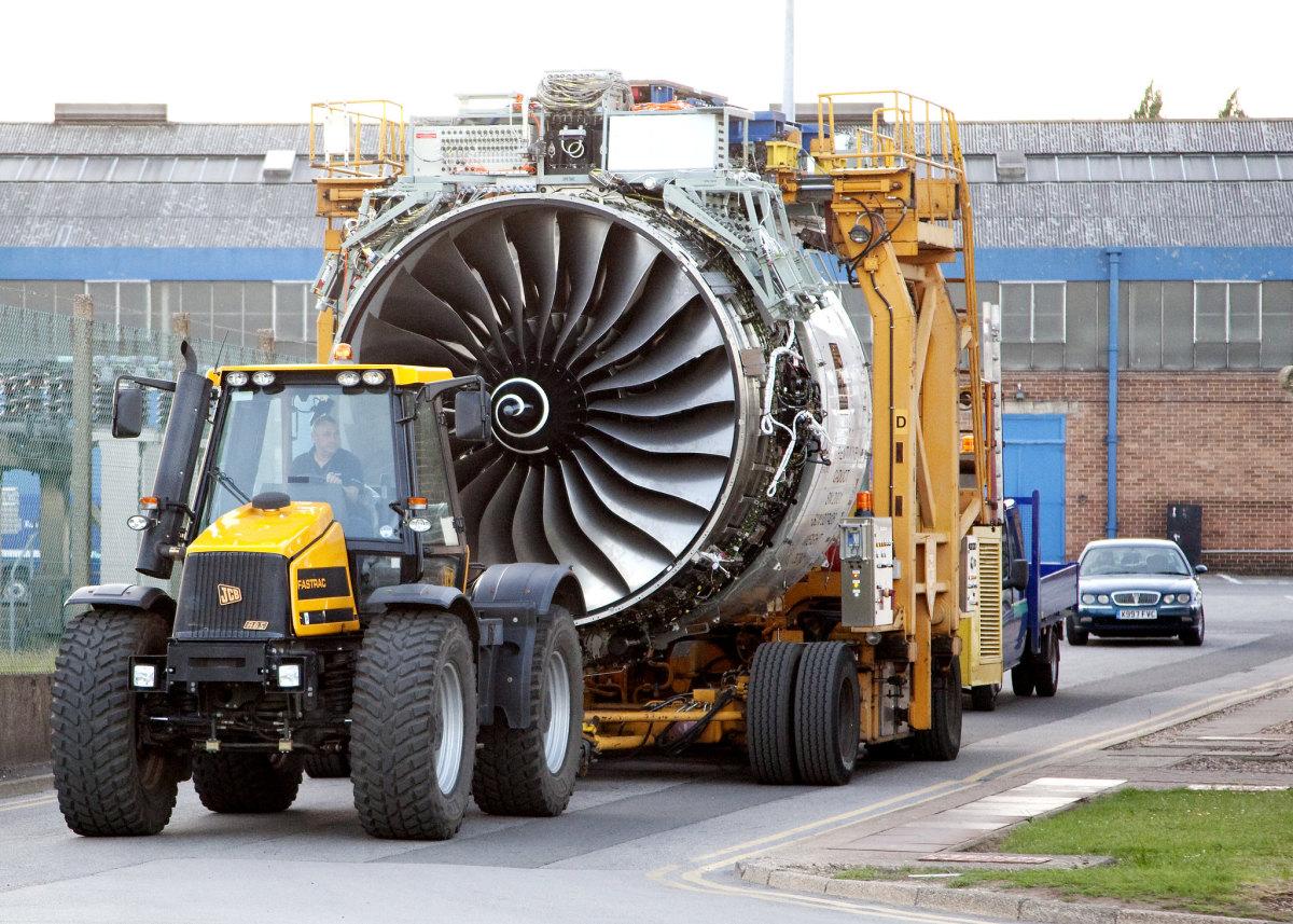 ニュース画像 1枚目:トレントXWB-84エンジン