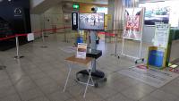 佐賀空港と広島空港、サーモグラフィー設置 出発客を検温の画像