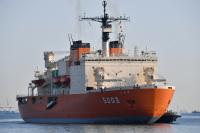ニュース画像:砕氷艦しらせ総合訓練、8月30日から10月6日まで