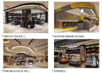 ニュース画像:JALUX、伊丹空港に4店舗オープン タビタスやBLUESKYなど