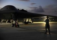 ニュース画像:アメリカ空軍、グアムにB-2 3機を展開 海外での運用訓練のため