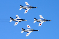 ニュース画像:ブルーインパルスの訓練飛行、初のライブ配信