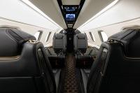 ニュース画像:エンブラエル、ボサノヴァ内装フェノム300Eを初納入
