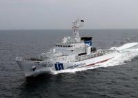 ニュース画像:PL型巡視船えちぜん、敦賀初入港