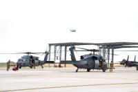 ニュース画像:F-15EとHH-60Gなど、ガンファイターフラッグに参加