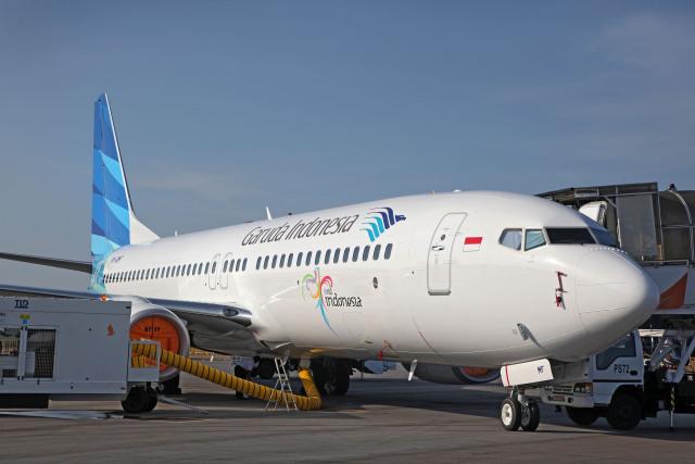 ニュース画像 1枚目:ガルーダ・インドネシア航空