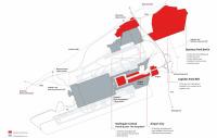 ニュース画像 2枚目:新空港 配置図