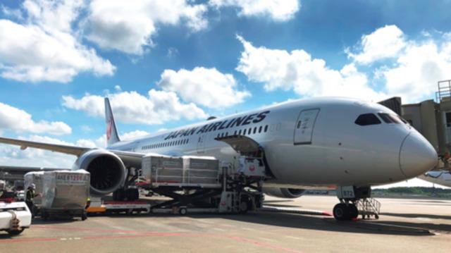 ニュース画像 1枚目:JAL 貨物輸送イメージ