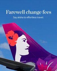 ニュース画像:ハワイアン航空、予約変更手数料にサヨナラ 国際線も対象