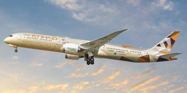 ニュース画像 1枚目:エティハド航空 787-10 エコデモンストレーター