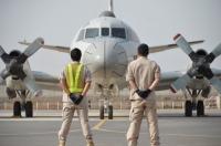 ニュース画像:ソマリア沖海賊対処の海自P-3C部隊、9月下旬まで第40次隊に交代