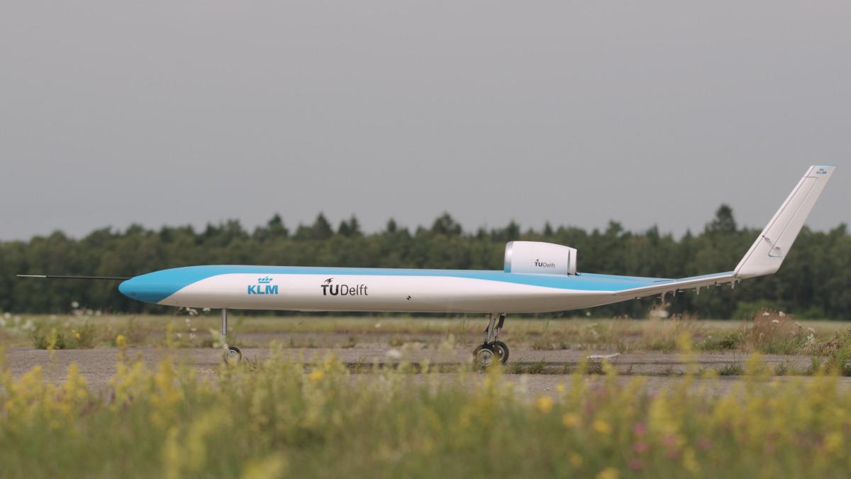 ニュース画像 1枚目:次世代型飛行機「Flying-V」