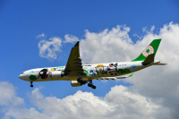 エバー航空、半年ぶりに新千歳空港へ乗り入れの画像
