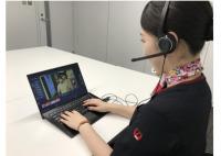 JAL、アバター式「非対面」案内サービス実証実験の画像
