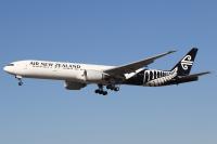 ニュージーランド航空、2021年9月まで777を地上保管の画像