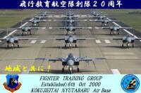 新田原基地、飛行教育航空隊20周年でエレファントウォークの画像
