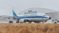 ニュース画像:アルゼンチン航空、創設70周年レトロ塗装機を公開