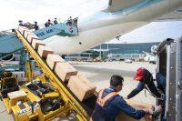 大韓航空、777-300ER旅客機を貨物専用に改修の画像